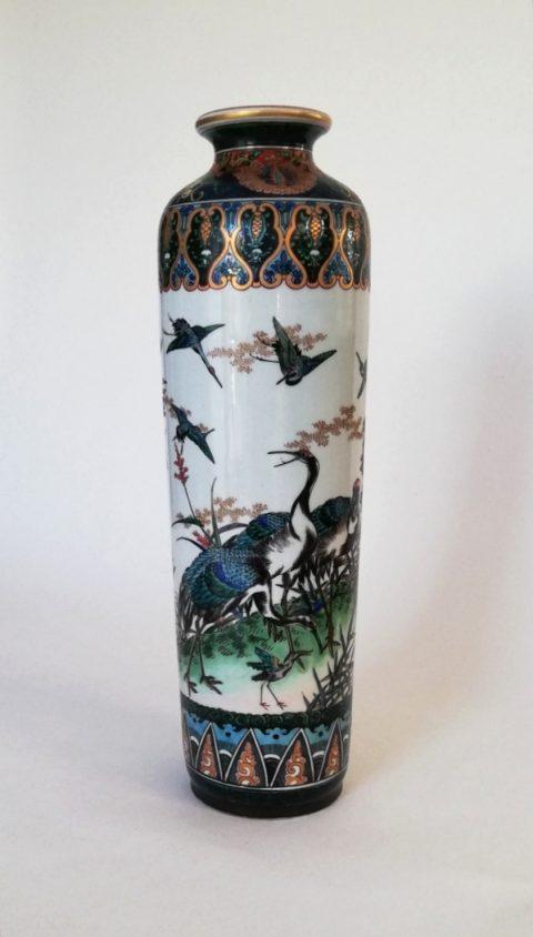 Japanese Meiji vase